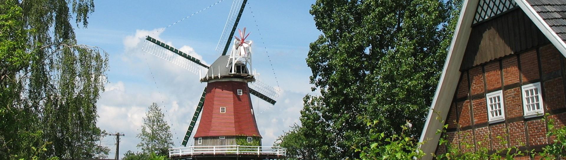 Banner Gr. Mimmelage Everdings Mühle