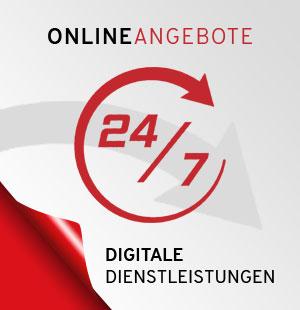 Online ANgebote - digitale Dienstleistungen